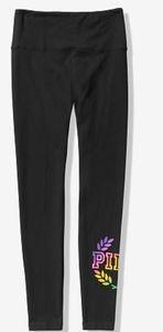 Vs Pink rainbow high waist  yoga leggings XL and M